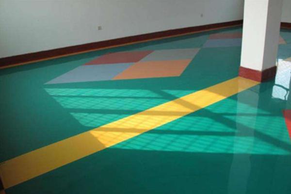 环氧浮彩砂地坪